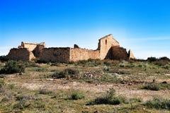 Покинутый дом в сельской местности стоковое изображение