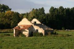 покинутый дом Франции Стоковое Фото