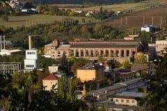 покинутый завод Стоковые Фото
