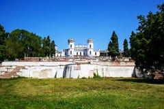 покинутый замок старый Стоковые Изображения