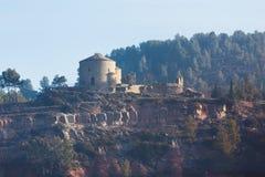 покинутый замок старый Стоковые Фото
