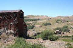 покинутый золотодобывающий рудник Стоковая Фотография RF