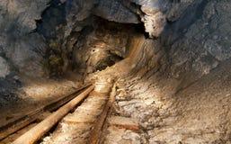 покинутый золотодобывающий рудник Стоковые Изображения
