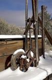 покинутый золотодобывающий рудник Стоковое Фото