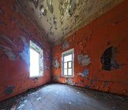 Покинутый интерьер комнаты Стоковое Фото