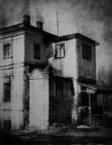 Покинутый каменный дом стоковое фото rf