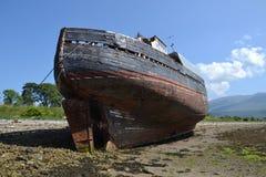 Покинутый корабль Стоковые Изображения