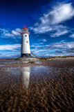 покинутый маяк Стоковое Изображение RF
