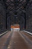 Покинутый мост ферменной конструкции Fallston - Пенсильвания Стоковые Изображения