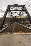 Покинутый мост ферменной конструкции Fallston - Пенсильвания Стоковые Фотографии RF