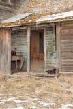 Покинутый дом фермы Стоковая Фотография