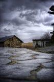 Покинутый дом Стоковые Фото