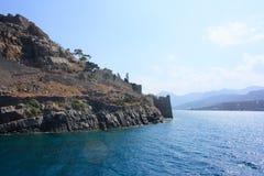 Покинутый остров leper Стоковые Изображения RF