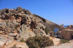 Покинутый остров leper Стоковые Изображения