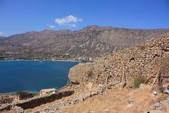 Покинутый остров leper Стоковое фото RF
