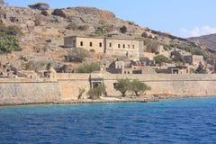 Покинутый остров leper Стоковое Изображение RF