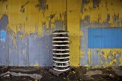 покинутый пакгауз Стоковая Фотография