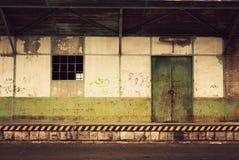 покинутый пакгауз Стоковое Фото