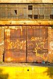 покинутый пакгауз Стоковые Фото