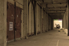 покинутый пакгауз Стоковая Фотография RF