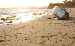покинутый пляж Стоковые Изображения
