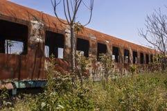 Покинутый поезд стоковые фотографии rf
