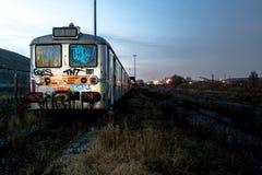 Покинутый поезд стоковое изображение rf