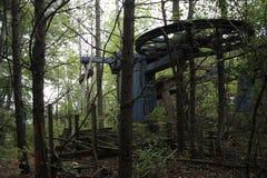 Покинутый подвесной подъемник Стоковая Фотография RF