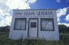 Покинутый салон волос Стоковые Изображения RF