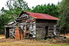 покинутый сельский дом Стоковые Изображения