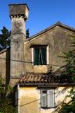 Покинутый среднеземноморской дом Стоковое Изображение RF