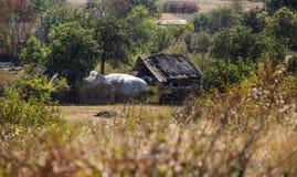 Покинутый старый амбар Стоковая Фотография