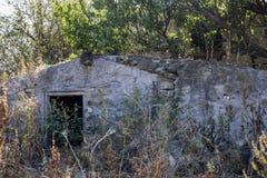 Покинутый старый амбар Стоковое Фото