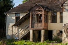 Покинутый старый дом Стоковое Фото
