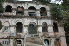 Покинутый старый дом Стоковое Изображение