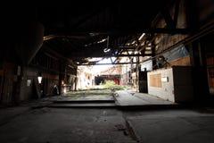 покинутый старый пакгауз Стоковая Фотография RF