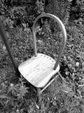 Покинутый стул Стоковые Фото