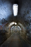 Покинутый тоннель Стоковая Фотография