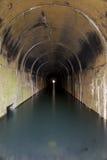 Покинутый тоннель Стоковые Изображения RF