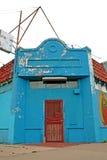 покинутый угловойой магазин Стоковые Фотографии RF