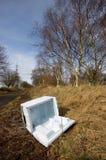 покинутый холодильник Стоковая Фотография