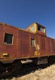 Покинутый экстерьер поезда Стоковая Фотография RF