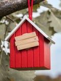 Покинутый birdhouse Стоковое Изображение RF