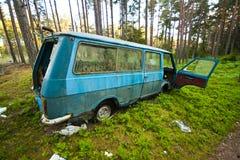 Покинутый Van Стоковые Фотографии RF