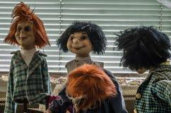 4 покинутых куклы Стоковая Фотография