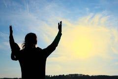 поклонение Стоковое Фото