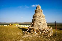 поклонение pagoda Иннер Монголиа стоковое фото rf