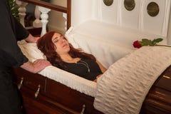 Покойная женщина Стоковая Фотография RF