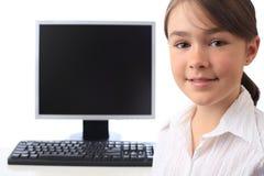 поколение компьютера Стоковое Фото