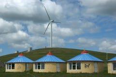Поколение энергии ветра стоковая фотография rf
